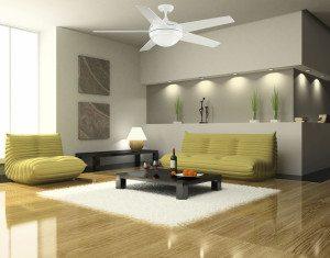 Livingroom Ceiling Fan Installation