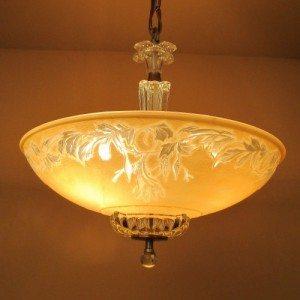 1930s chandelier
