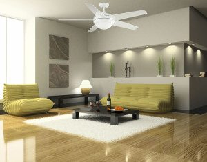 Livingroom Ceiling Fan Installation