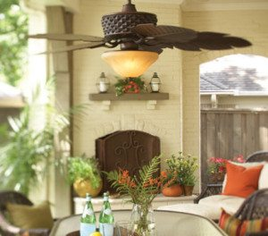 Patio Ceiling Fan Installation