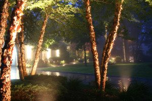 Residential Outdoor Security System Lighting